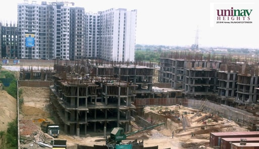 Uninav Heights Phase 2 Under Construction