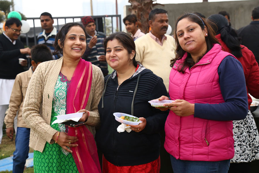 Republic Day Party - Uninav Heights